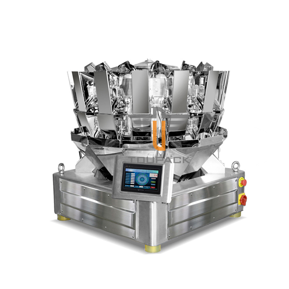 14 Heads Dried Fruit Multihead Weigher Packing Machine